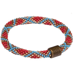 Sherpa Mayalu Mughal Roll On Armband, rupa blue